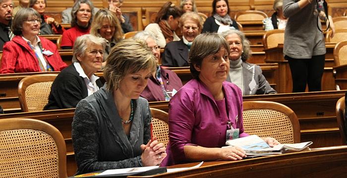 Les femmes au Parlement défendent-elles les femmes suisses?