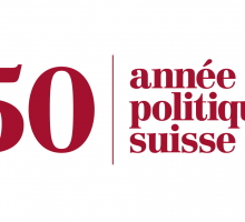 50 Jahre Année Politique Suisse: Jubiläumsveranstaltung am 24. und 25. November in Bern