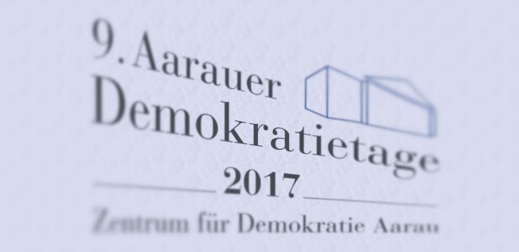 9. Aarauer Demokratietage: Rolle der Medien in der direkten Demokratie