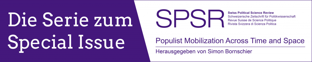 SPSR Special Issue Populismus